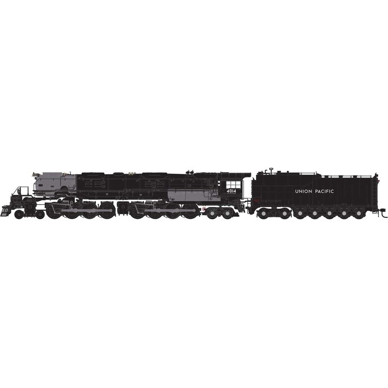 HO 4-8-8-4 with DCC & Sound UP Promontory, #4014