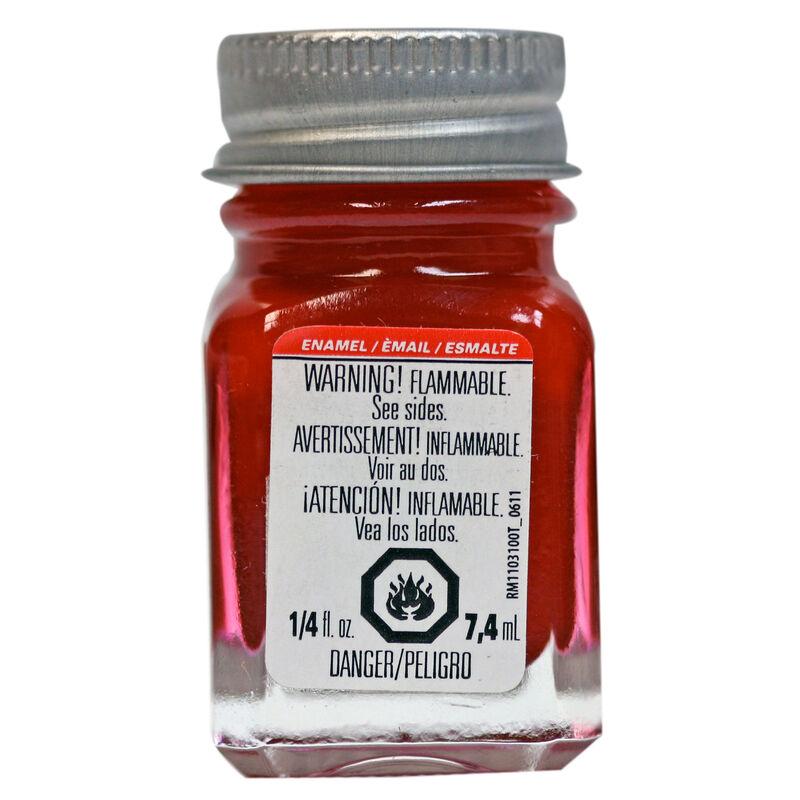 Enamel 1/4 oz Metallic Red