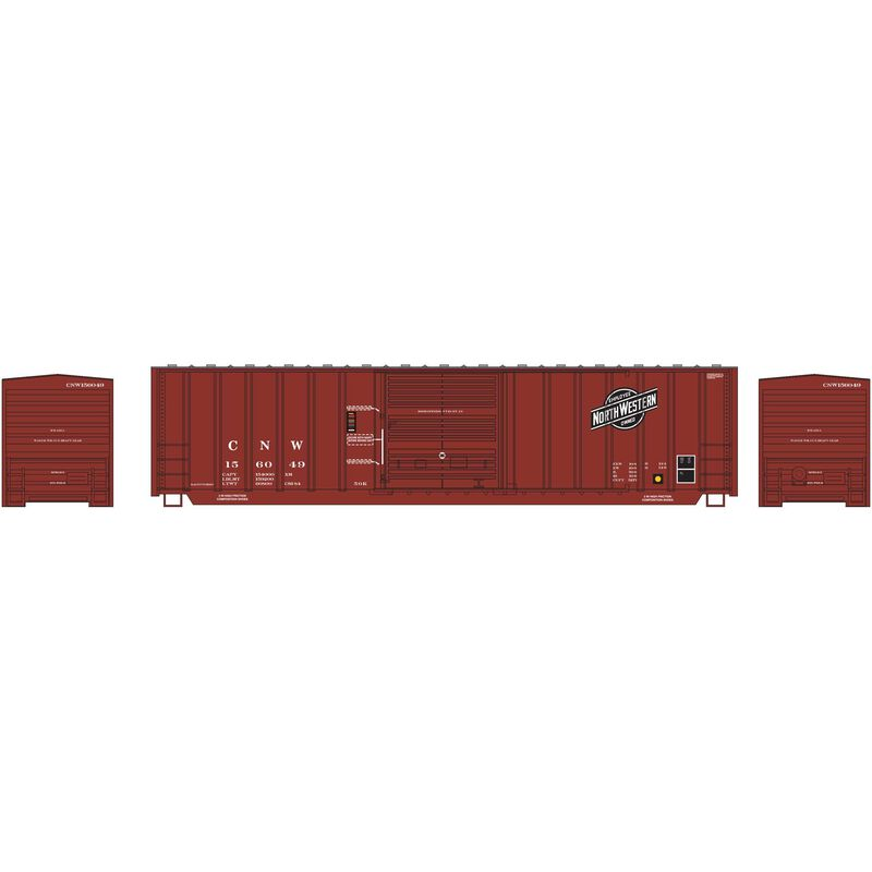 N 50' Berwick Box C&NW #156049