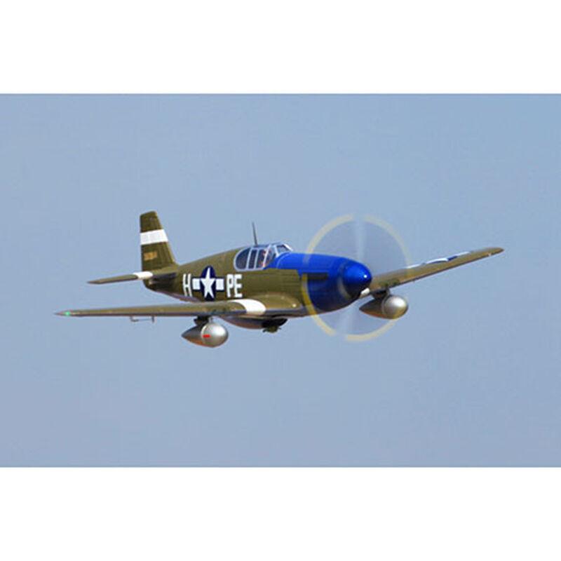P-51B Dallas Darling PNP, 1450mm