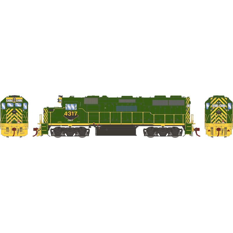 HO GP39-2 CSX Ex-RDG Patch #4317