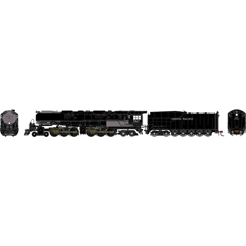 N 4-6-6-4 with DCC & Sound, UP #3967