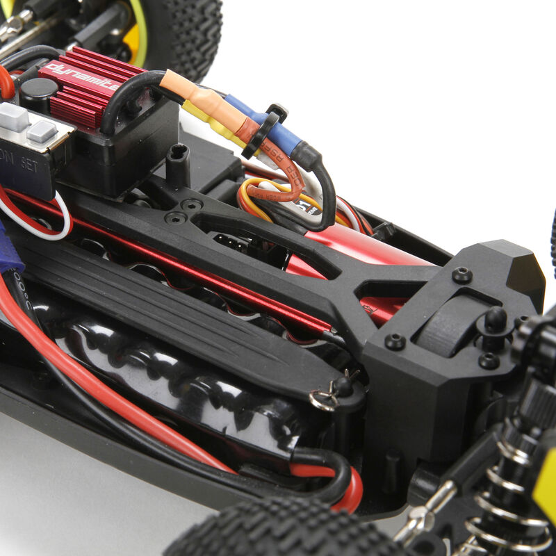 1/14 Mini 8IGHT 4WD Buggy Brushless RTR with AVC, Black