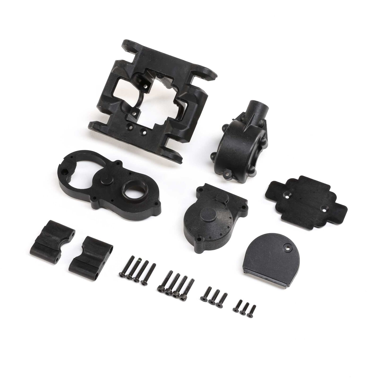 Gearbox Housing Set with Covers: LMT