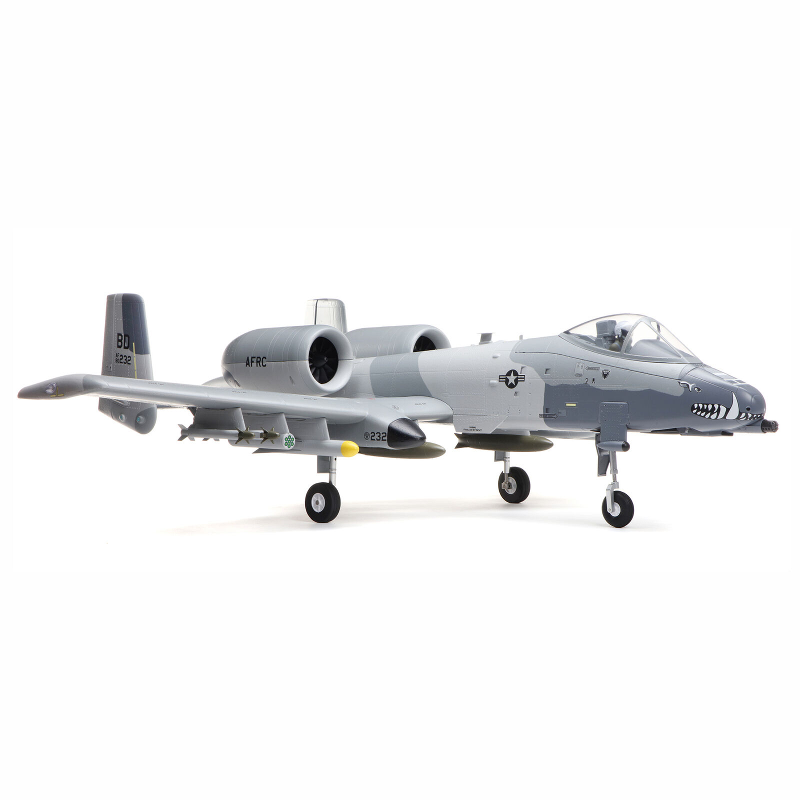 A-10 Thunderbolt II 64mm EDF BNF Basic with AS3X and SAFE Select, 1150mm