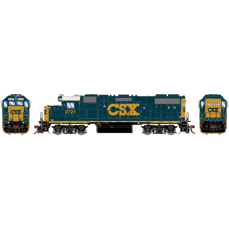 HO GP38-2 with DCC & Sound, CSX #2721