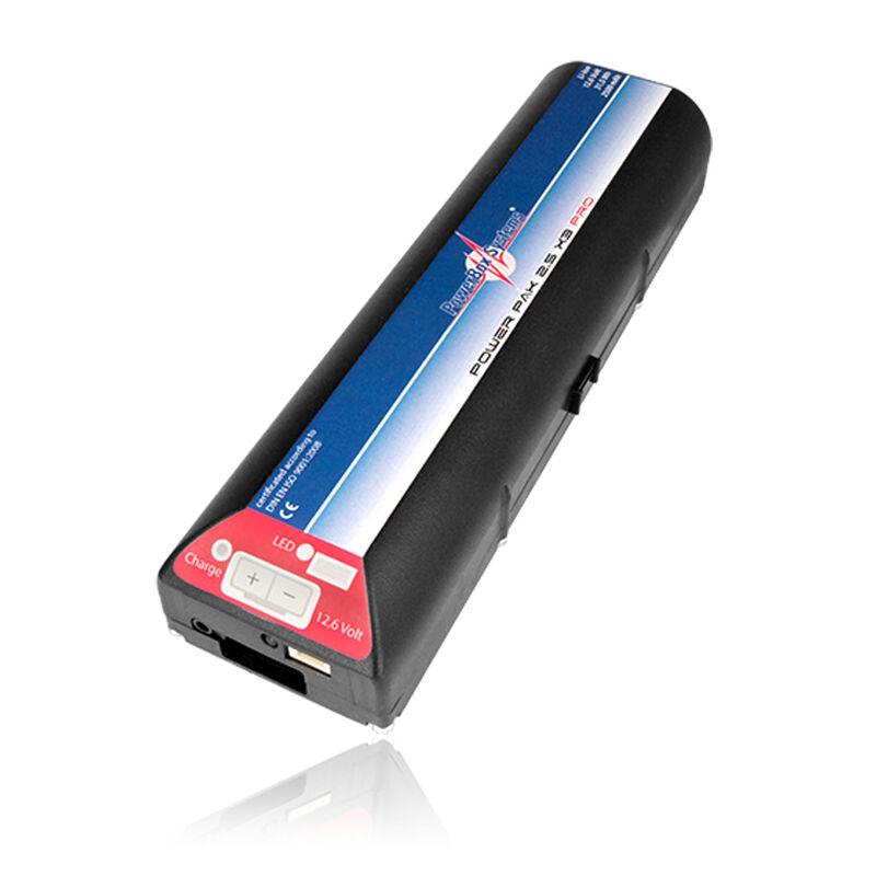 PowerPak 2.5X3 2500mAh PRO Li-Ion Receiver Battery and Mount