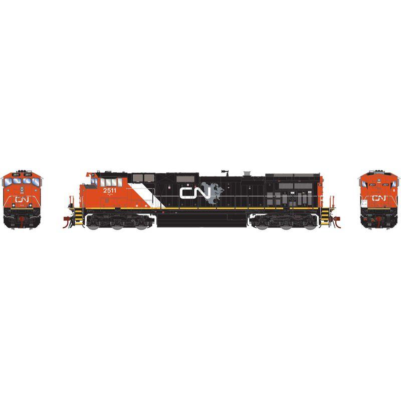 HO G2 Dash 9-44CWL w DCC & Sound CN #2511