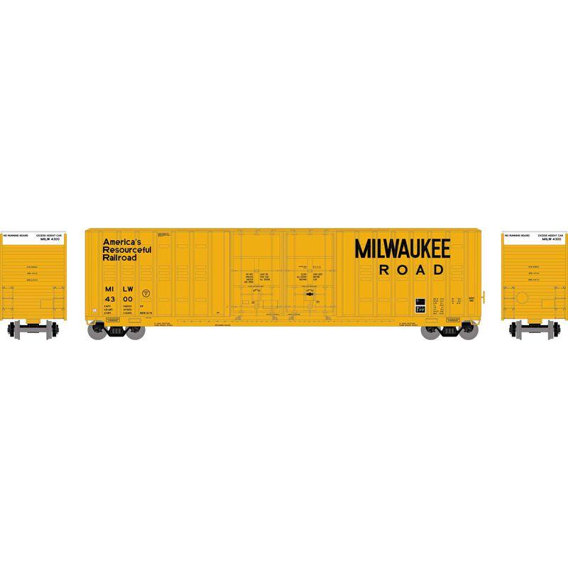 HO RTR 60' Berwick Hi-Cube Box MILW #4300