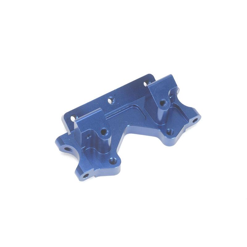 Aluminum Front Bulkhead, Blue: Stampede, Rustler, Bandit, Slash