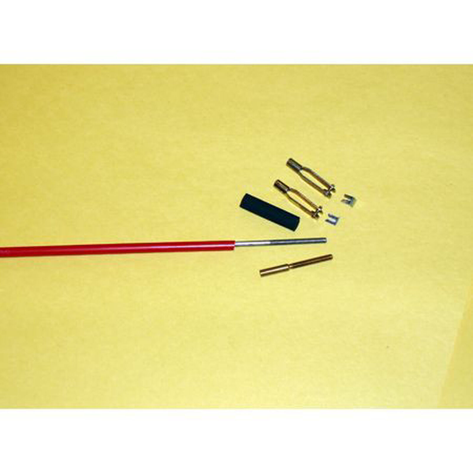Pushrod,36 Steel with Clevis 4-40