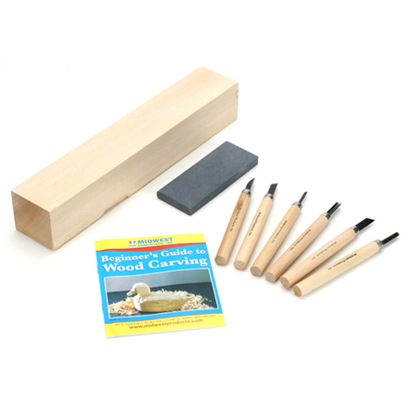 Wood Carver's Starter Kit