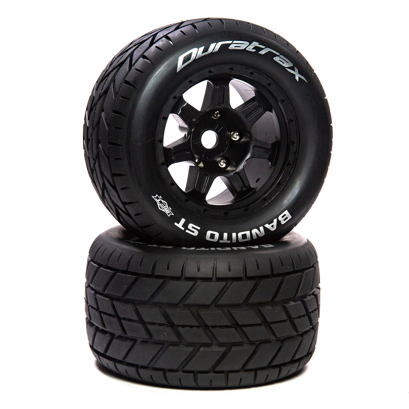 "Bandito ST Belt 3.8"" Mounted Front/Rear Tires .5 Offset 17mm, Black (2)"