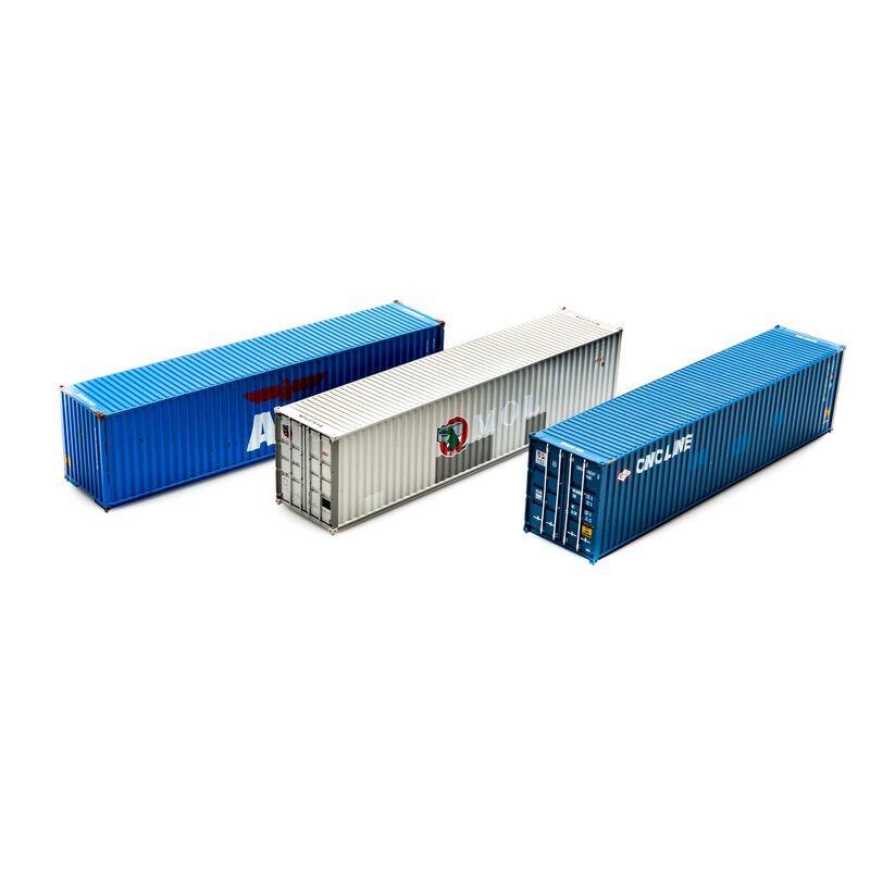 HO RTR 40' Hi-Cube Containers APL MOL CNC Line (3)