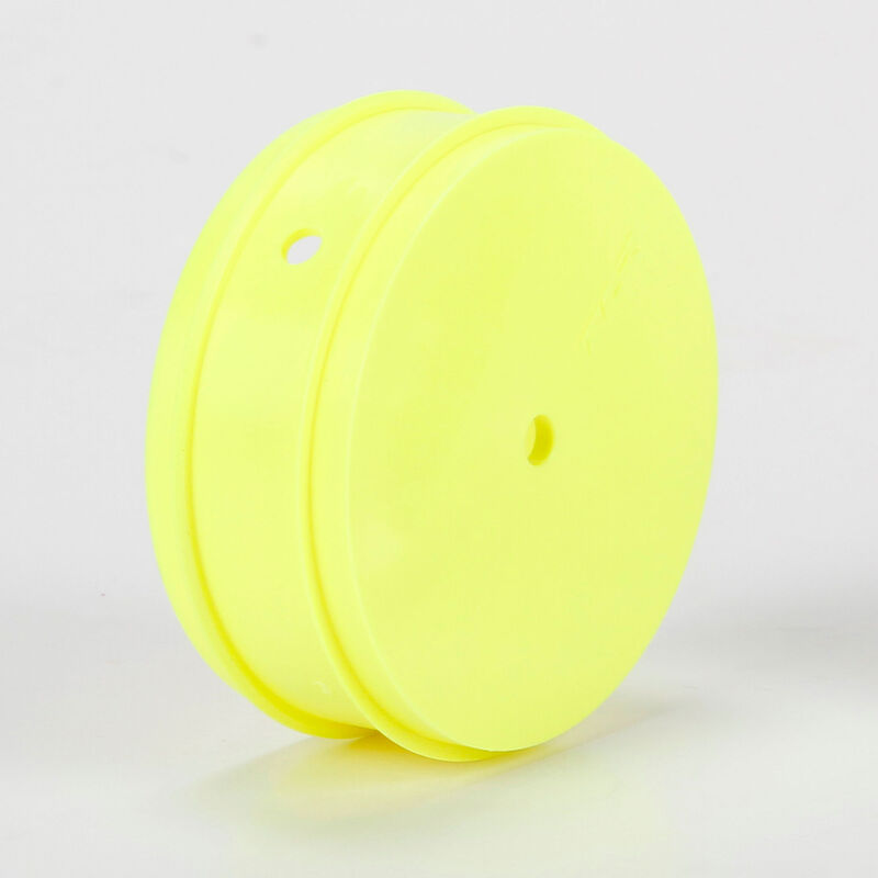 1/10 Front Buggy 61mm Wheels, 12mm Hex, Yellow (2): 22 3.0
