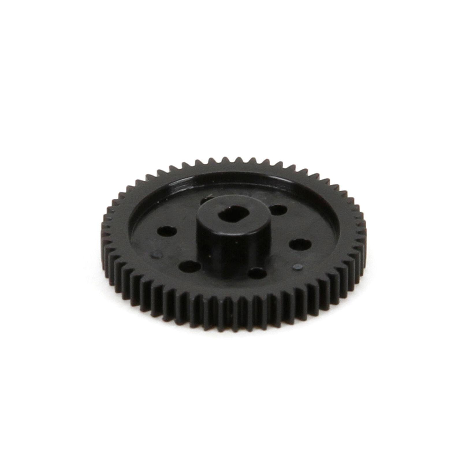 Spur Gear, 57T: 1/24 4WD Temper