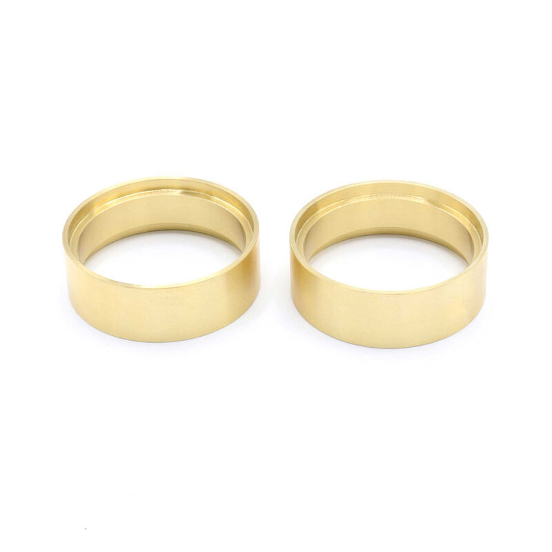 "1.9 Brass 0.8"" Wheel Clamp Rings (Pair)"