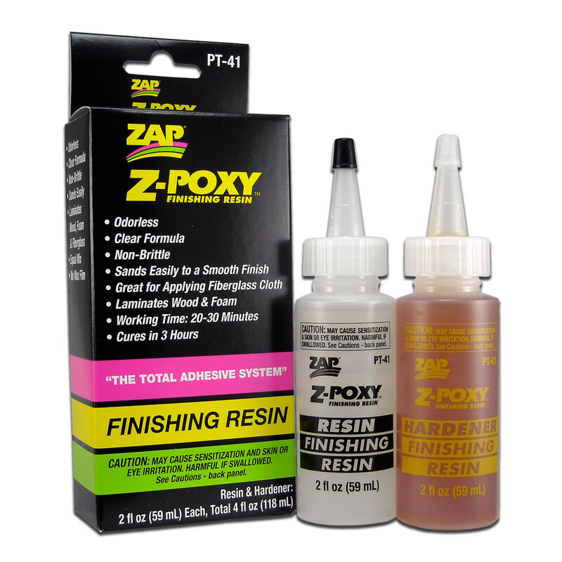 Z-Poxy Finishing Resin, 4oz