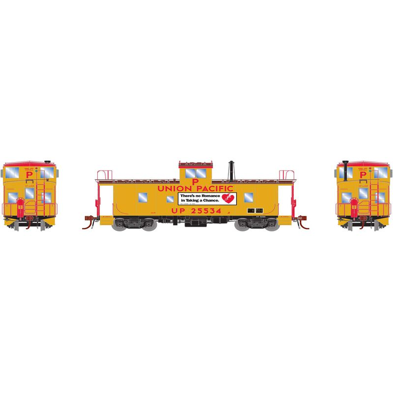HO ICC Caboose with Lights & Sound UP #25534