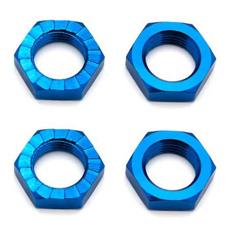 Factory Team Wheel Nuts 17mm Blue