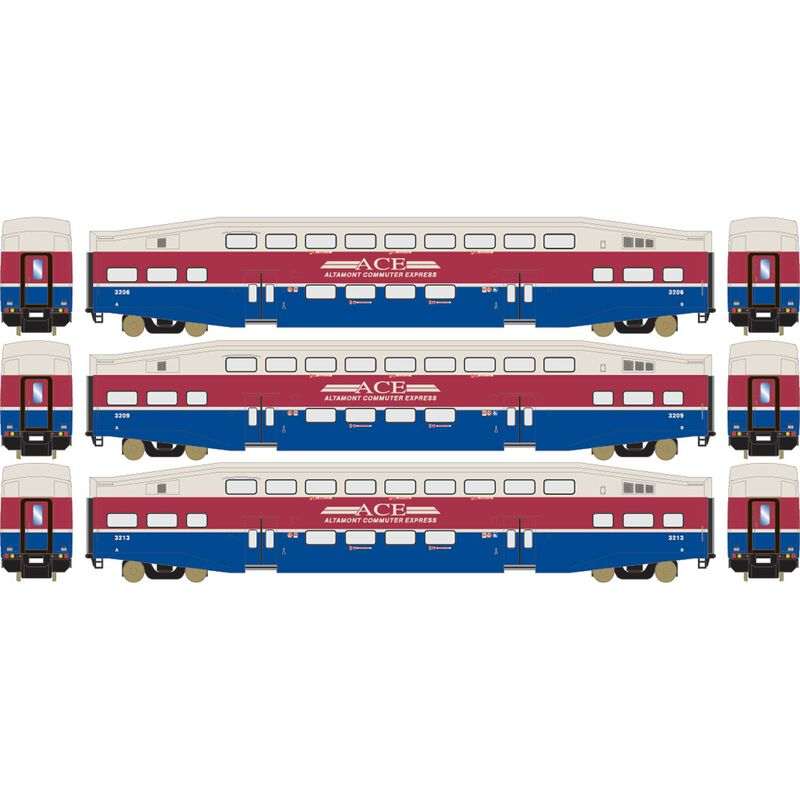 HO RTR Bombardier Coach, ACE (3)