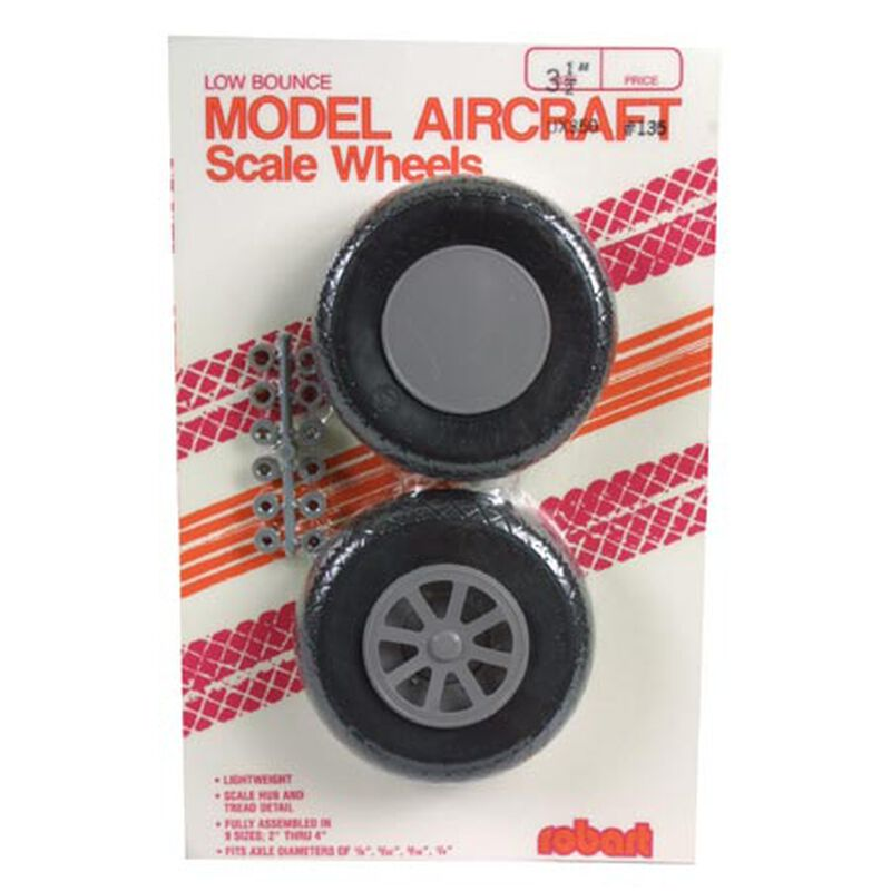 UX350-Scale Diamond Tread Wheels