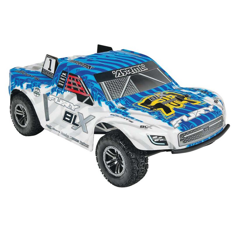1/10 FURY BLX 2WD with NiMH Battery, Blue