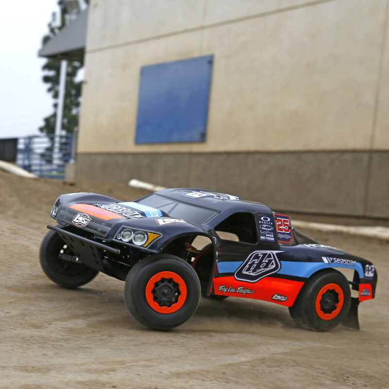 1/10 TEN-SCTE Troy Lee Designs 4WD SCT RTR with AVC Technology & Battery/Charger