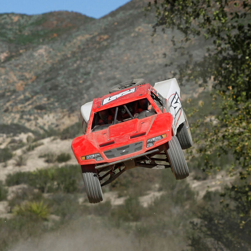 1/10 Baja Rey 4WD Desert Truck Brushless RTR with AVC, Red