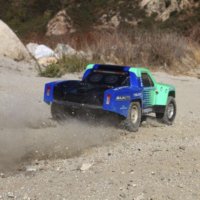 1/10 TENACITY TT Pro 4WD SCT Brushless RTR with Smart, Falken