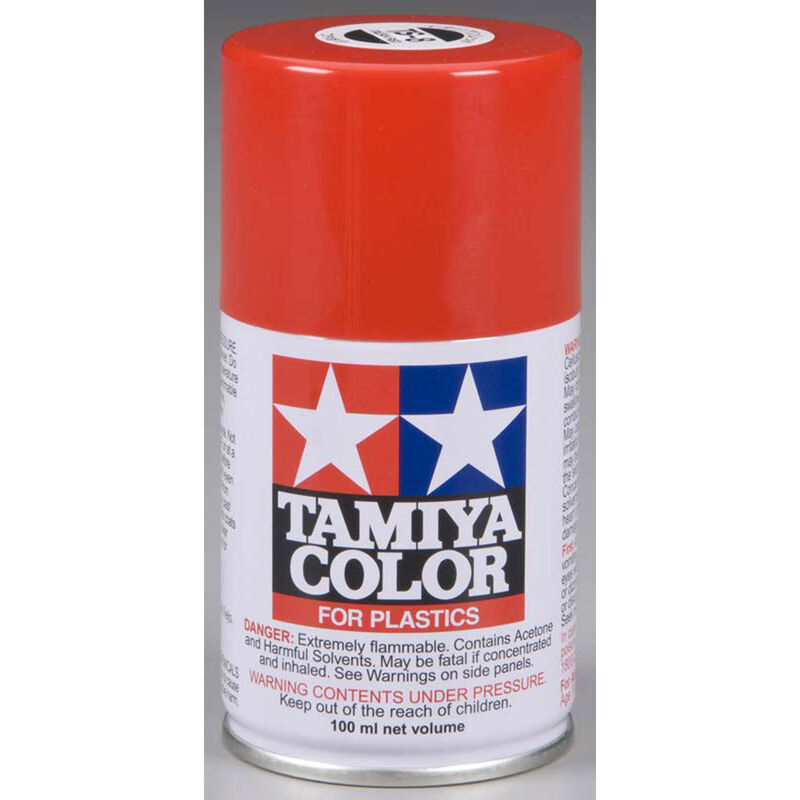 Spray Lacquer TS-8 Italian Red
