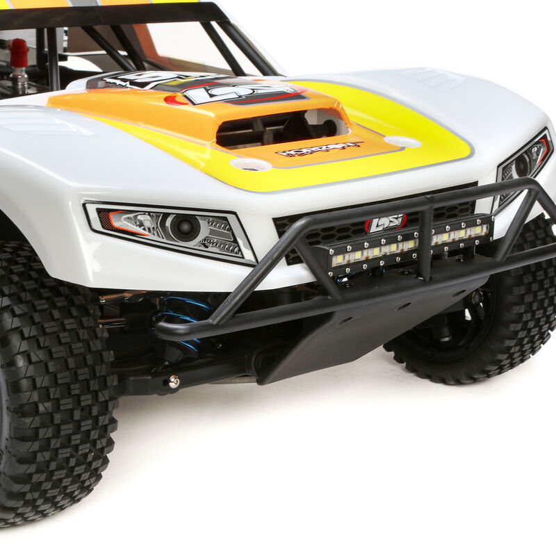 1/5 5IVE-T 2.0 4WD Short Course Truck Gas BND, Grey/Orange/White