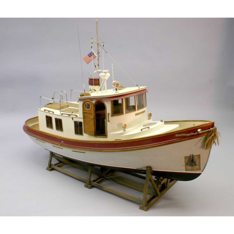1/16 The Lord Nelson Victory Tug Boat Kit, 28""