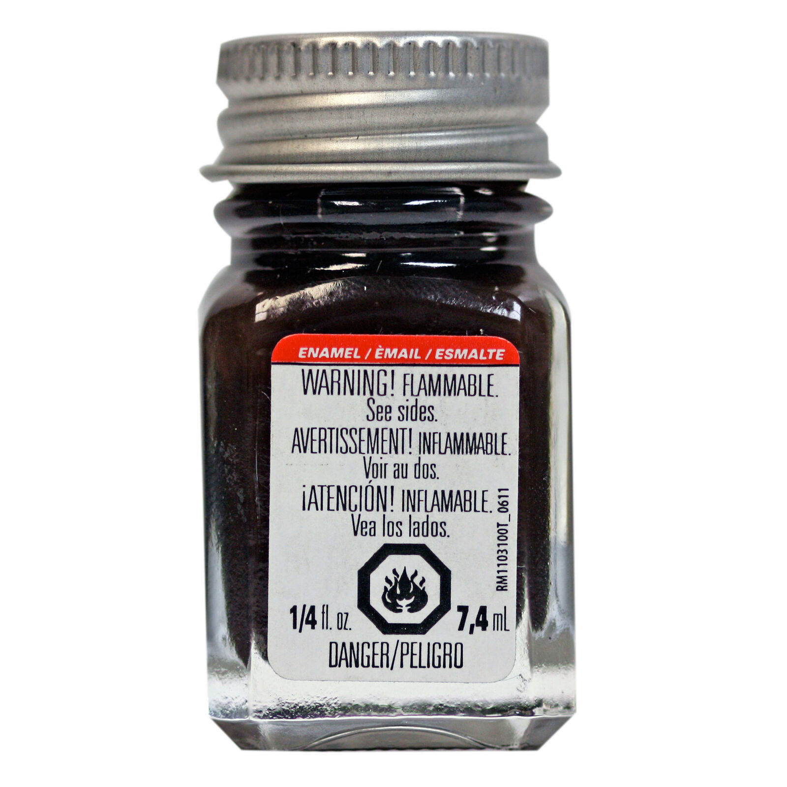 Enamel 1/4 oz Rubber