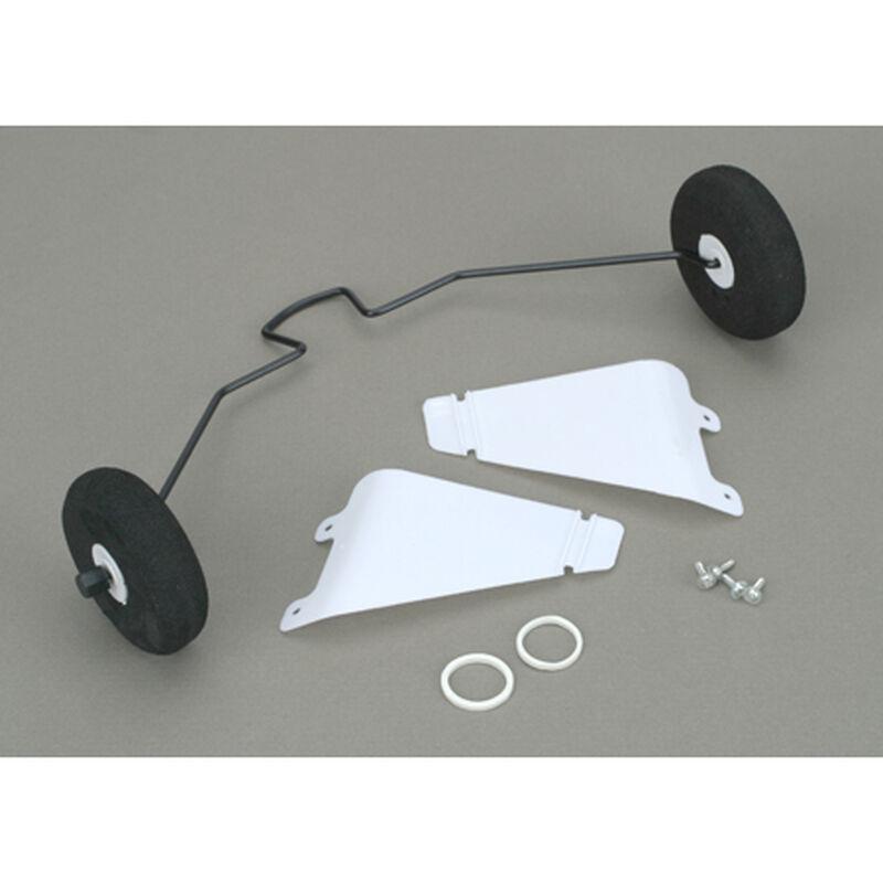 Landing Gear with Tires: Super Cub LP