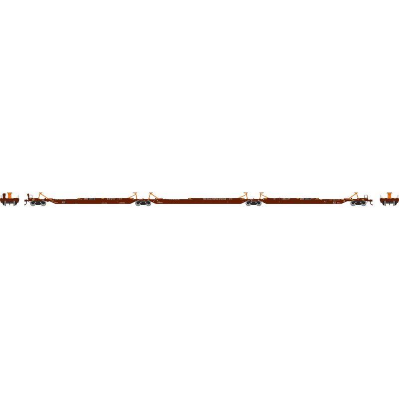 HO RTR 57' Trinity Spine Car BNSF #300518