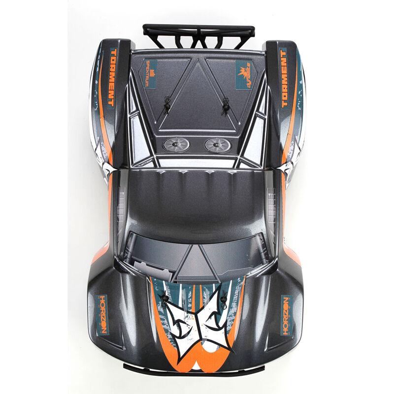 1/18 Torment 4WD SCT RTR, Gray/Orange
