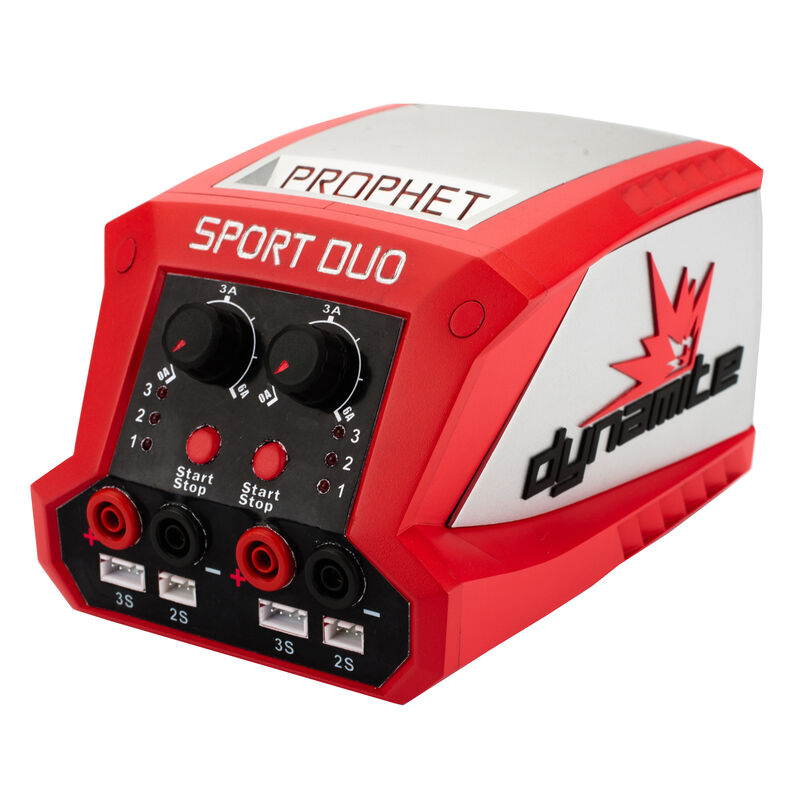 Prophet Sport LiPo Duo 50Wx2 Dual Battery Charger