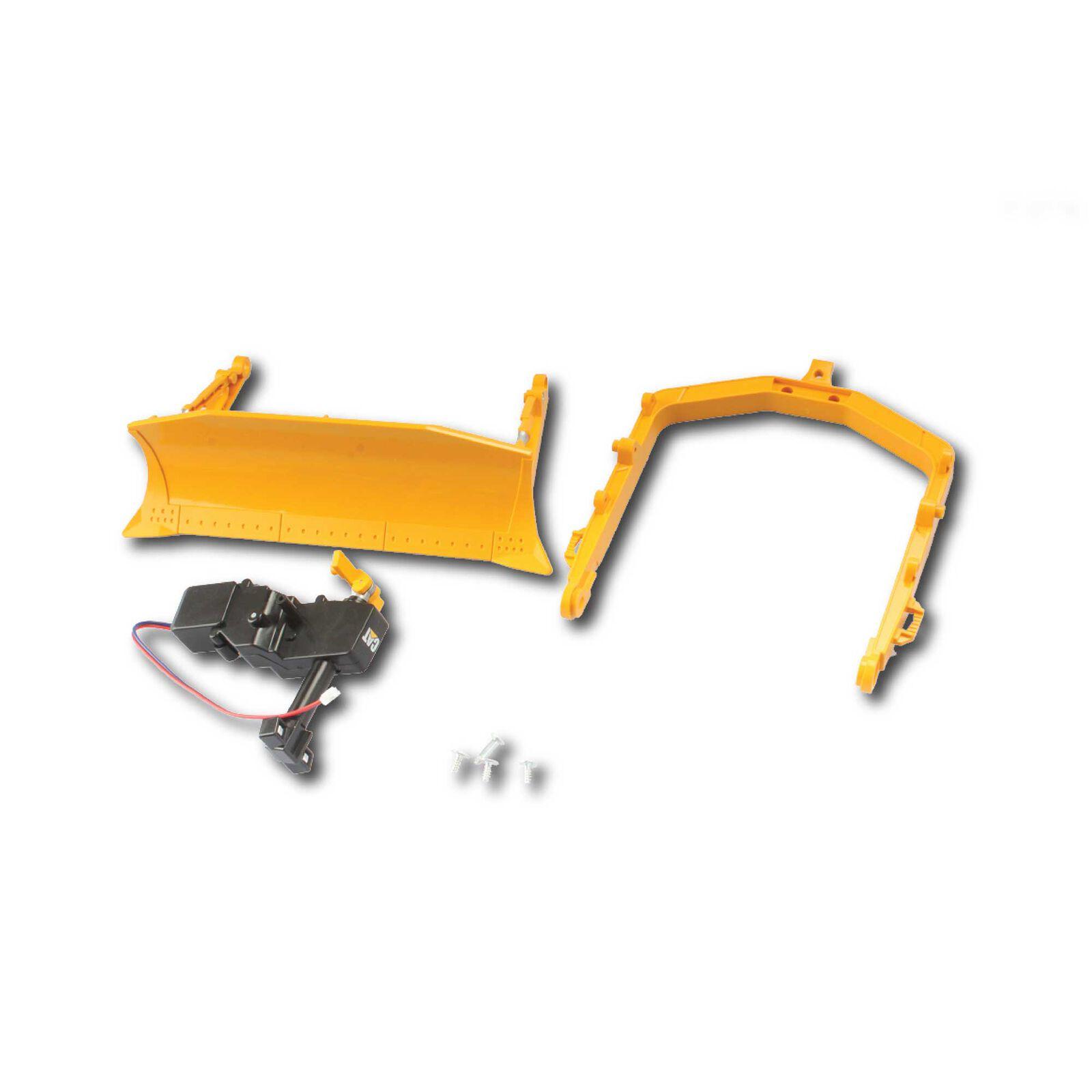 Front Blade with Worm Gear Replacement: Caterpillar D7E Bulldozer
