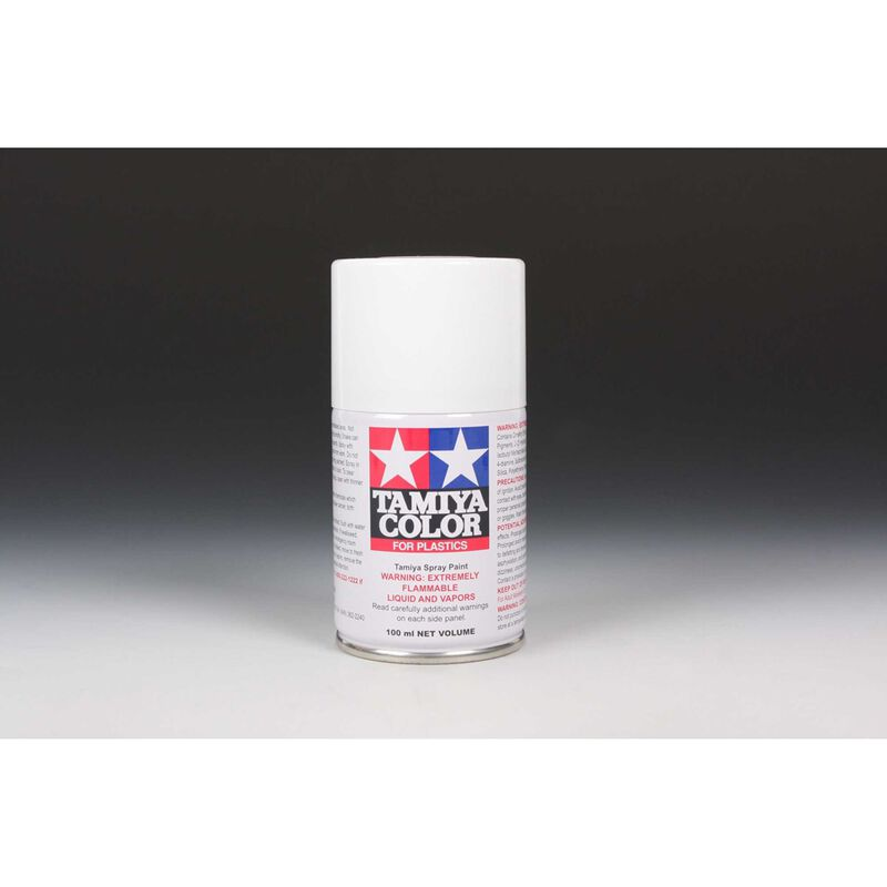 Spray Lacquer TS-27 Matte White