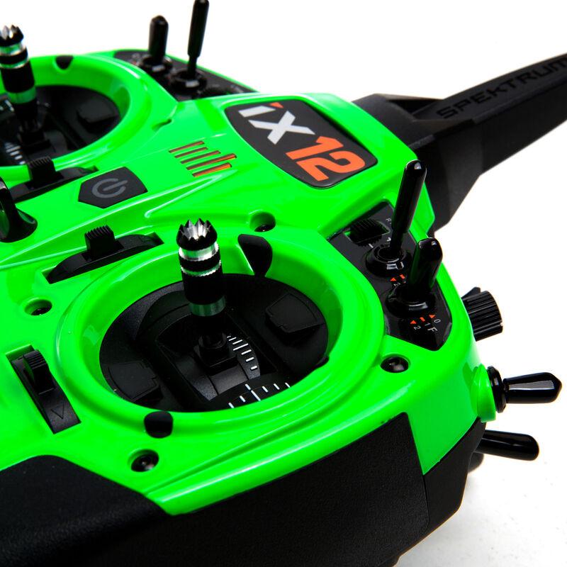 iX12 12-Channel DSMX Transmitter Only, Green