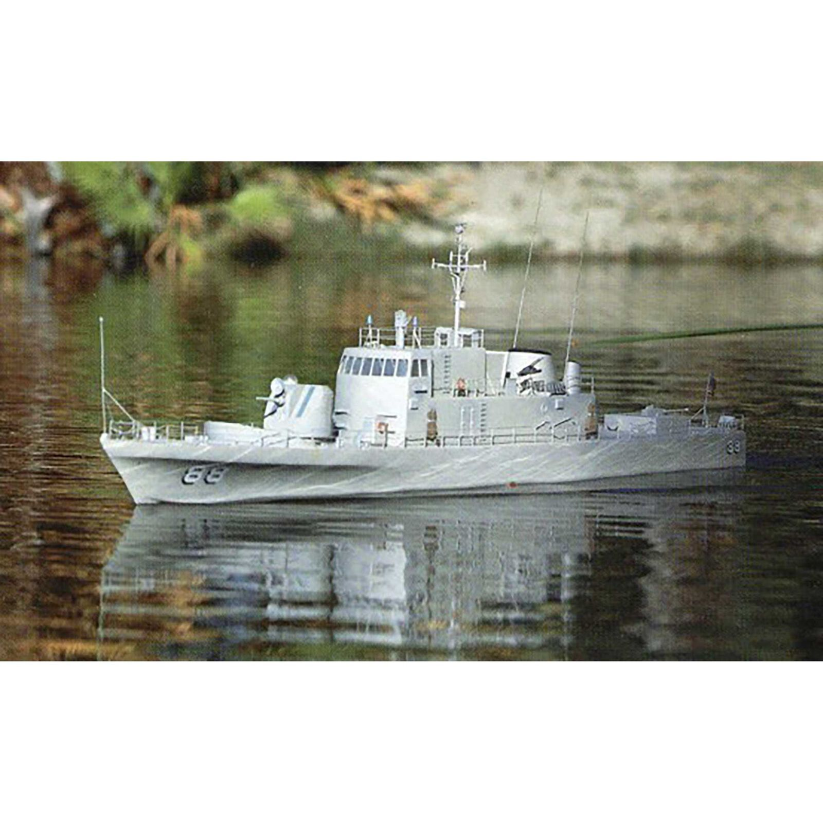 "USS Crockett Kit, 51"""