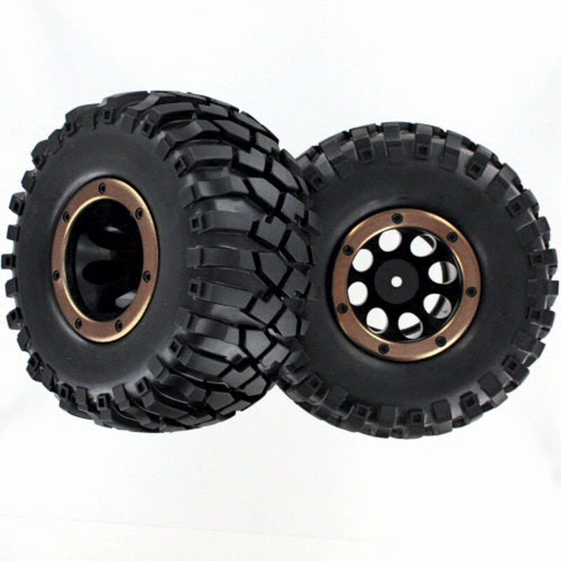Complete Tire Wheel with Secure Ring (2): Everest 10