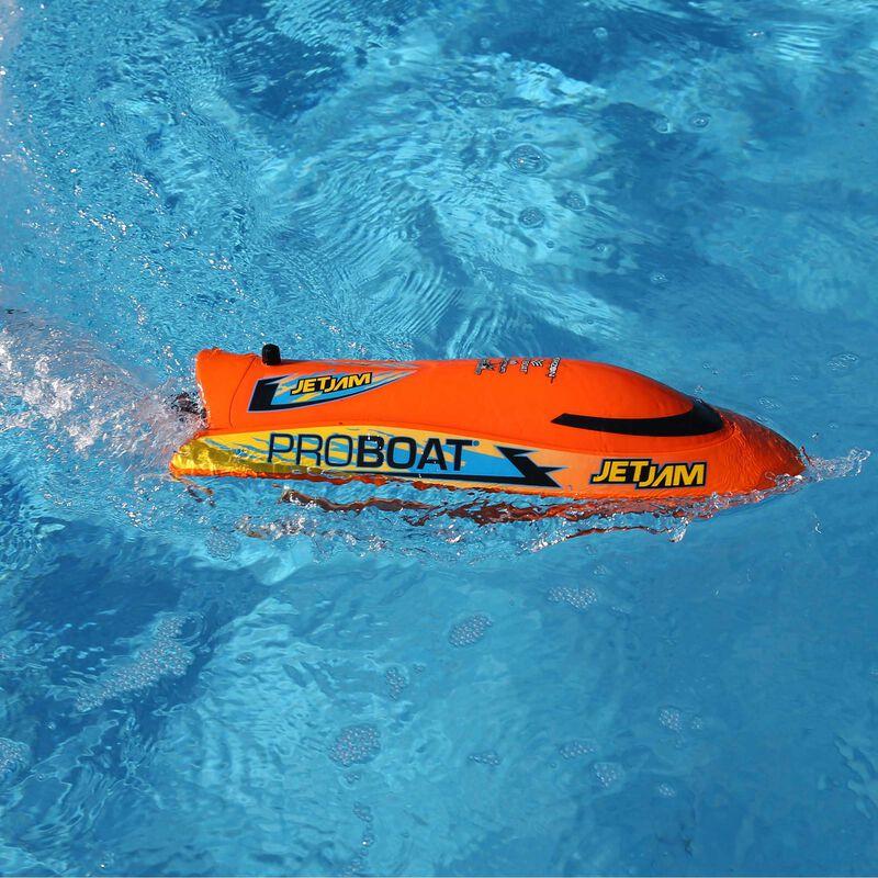 "Jet Jam 12"" Pool Racer Brushed RTR, Orange"
