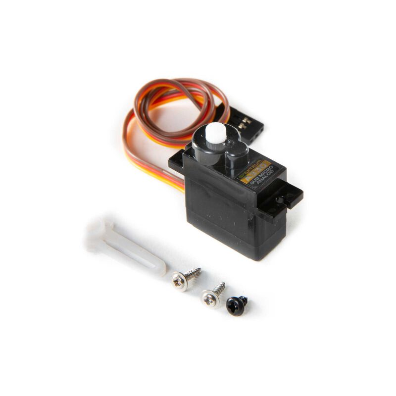 A354 Sub-Micro Analog 9g Nose Wheel Steering Servo