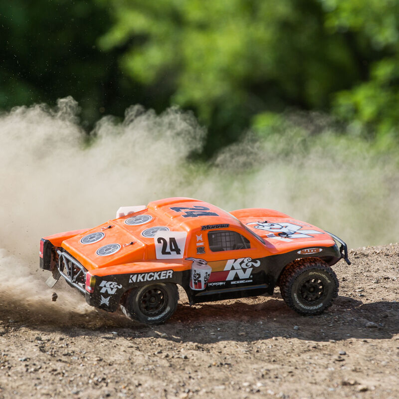 1/10 K&N Torment 2WD SCT Brushed with LiPo RTR, Orange