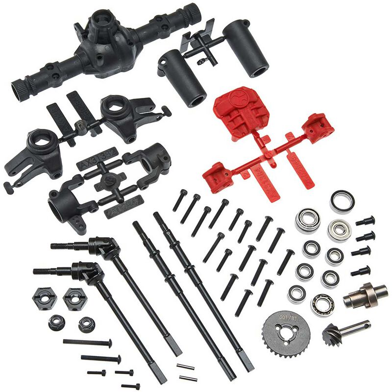 AR44 Locked Axle Set Front Rear Complete