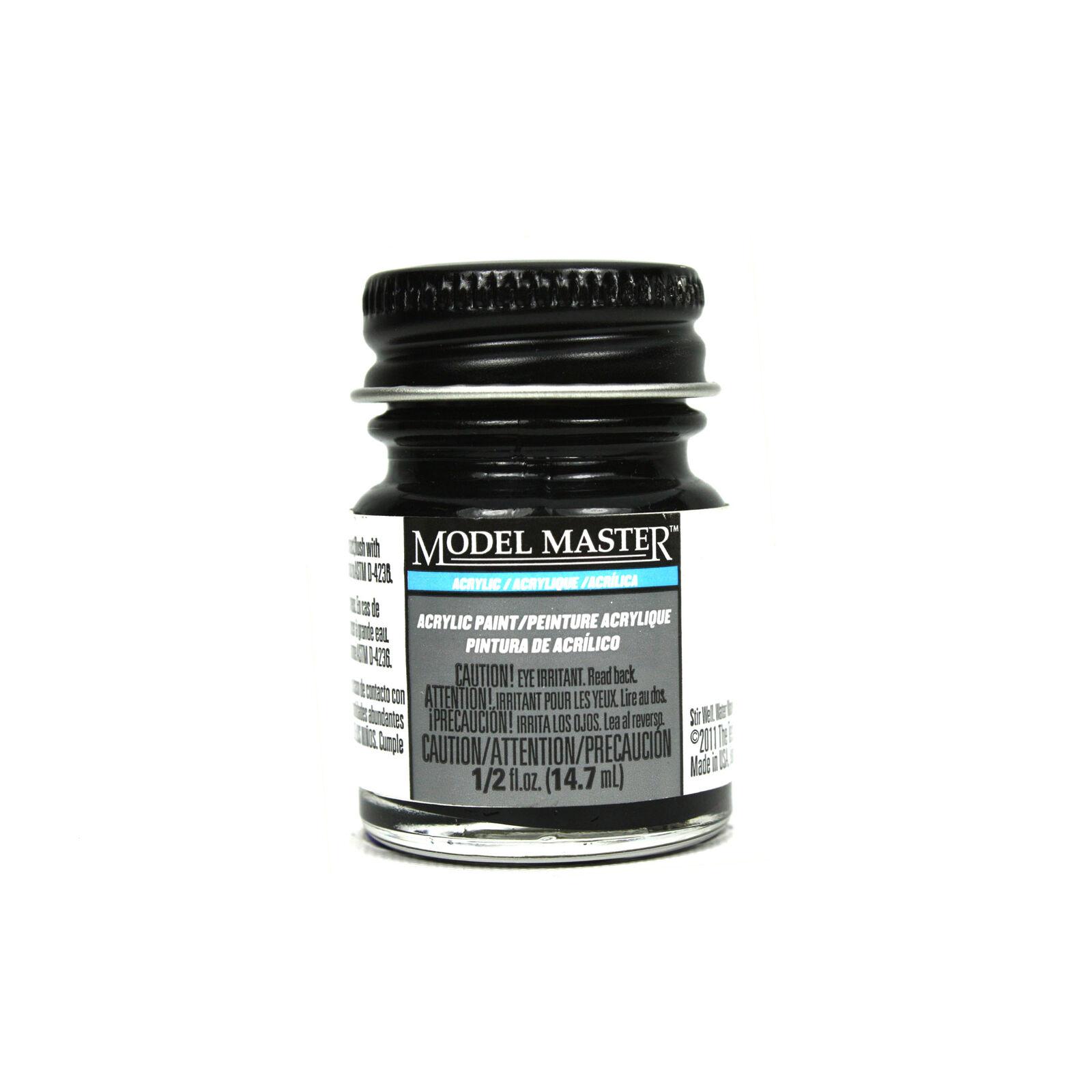 Acryl Semi-Gloss 1/2oz Black