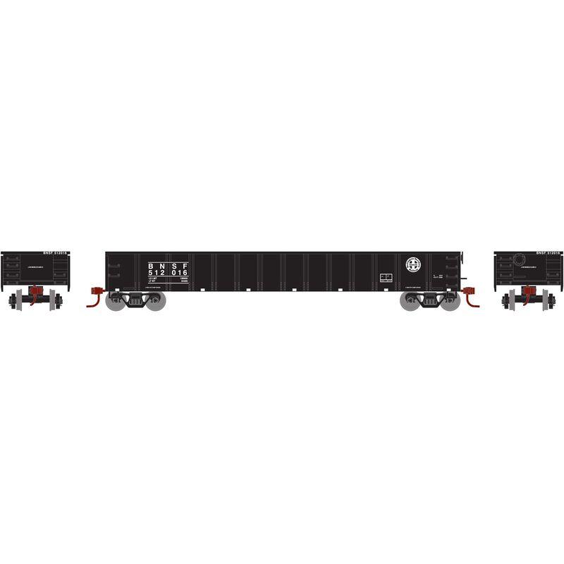N 52' Mill Gondola BNSF Black #512016