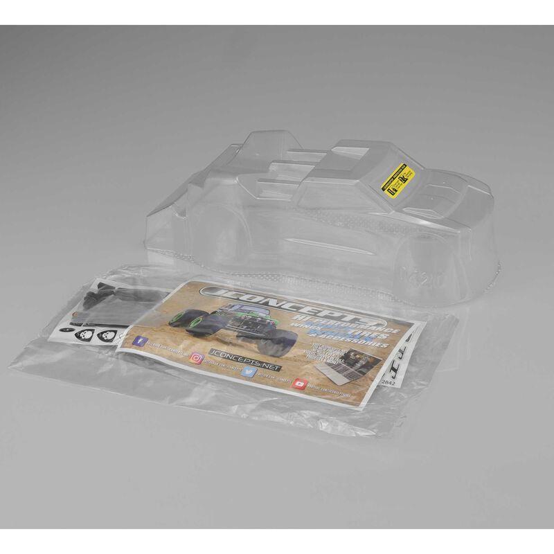 Clear Body, Finnisher: Mini-T 2.0 Body with Rear Spoiler